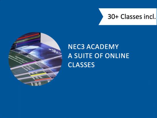 NEC Online Training - NEC3 Academy - Online NEC3 eLearning
