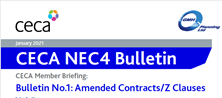 NEC4 CECA bulletin No 1 – Z clauses