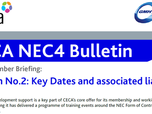 NEC4 CECA Bulletin no2 – Key Dates