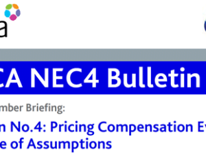 NEC4 CECA Bulletin No4 – Compensation Event Quotations and use of Assumptions