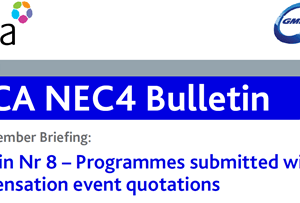 NEC4 CECA Bulletin No 8: Programmes with compensation event quotations